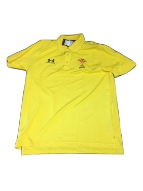 10a6ae12 Product Image Wales Under Armour Rugby Union WRU Men's Polo Shirt Medium