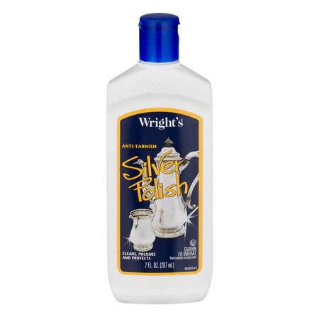 7 Ounce Liver - Wright's Anti-Tarnish Silver Polish, 7 fl oz