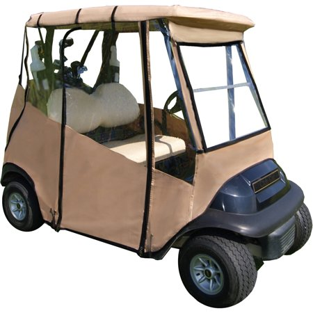 Golf Cart Rain Cover - Universal Golf Cart Cover by DoorWorks, Multiple Colors