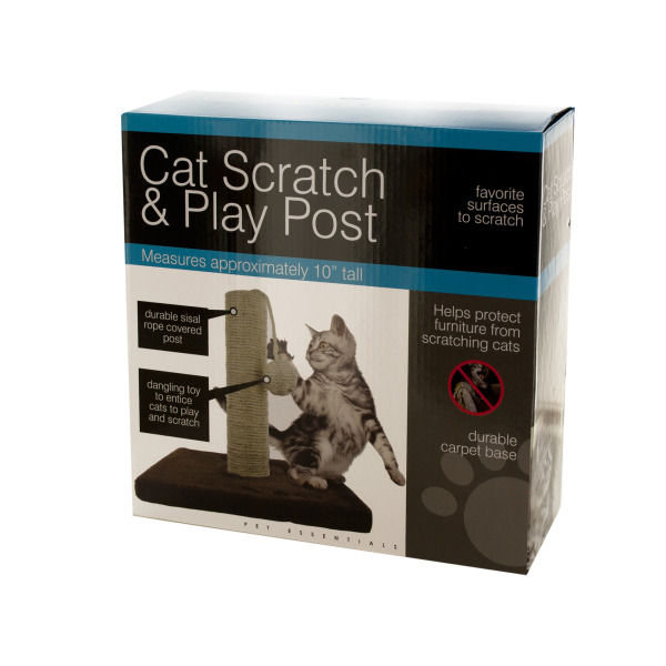 Bulk Buys Cat Scratch & Play Post, Case of 1
