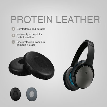 Replacement Memory Ear Pad Protein Leather Around Ear Cups Cushion Cover for ON EAR OE2 OE2I & Headphones - image 6 of 7