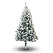 Perfect Holiday 6' Snow Flocked Artificial Christmas Tree