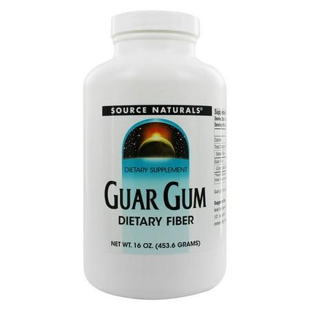 Source Naturals Source Naturals  Guar Gum, 16 oz