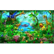 """Jungle Wall Decal Poster 15""""x24"""""""