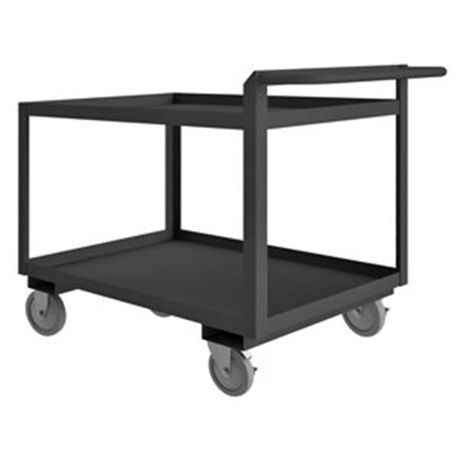Durham RSCR364836ALU5PU95 36 in. Rolling Service Cart, Gray - 1200 lbs