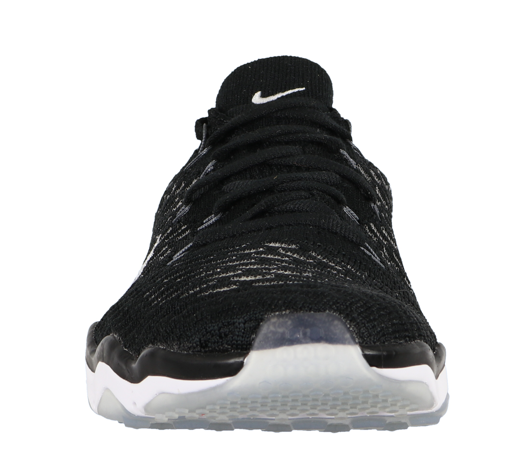 Nike Women's Cross Air Zoom Fearless Flyknit Cross Women's Training Shoes Black White f2edf6