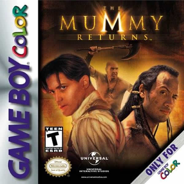 Mummy Returns GBC