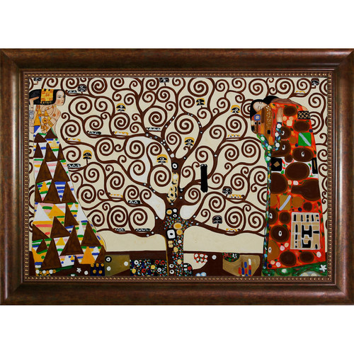 Wildon Home The Tree of Life, Stoclet Frieze, 1909 by Gustav Klimt Framed Painting