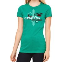 80b77306 Product Image Step Brothers Catalina Wine Mixer Women's Kelly Green T-shirt  NEW Sizes S-2XL