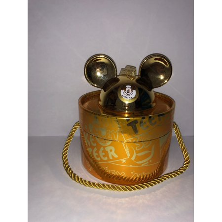Disney Parks Mickey Mouse Club Gold Ear Hat Ornament Limited Edition 2000 ()