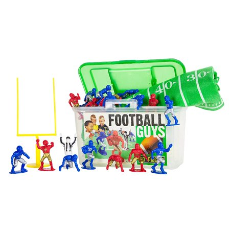 Football Guys: Red vs. Blue Inspires Imagination with Open-Ended Play Includes 2 Full Teams and More For Ages 3 and Up, INSPIRES.., By Kaskey Kids (Team Fortress 2 Halloween Trailer)