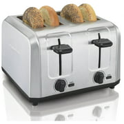 Best 4 Slice Toasters - Hamilton Beach Brushed Stainless Steel 4-Slice Toaster (24910) Review