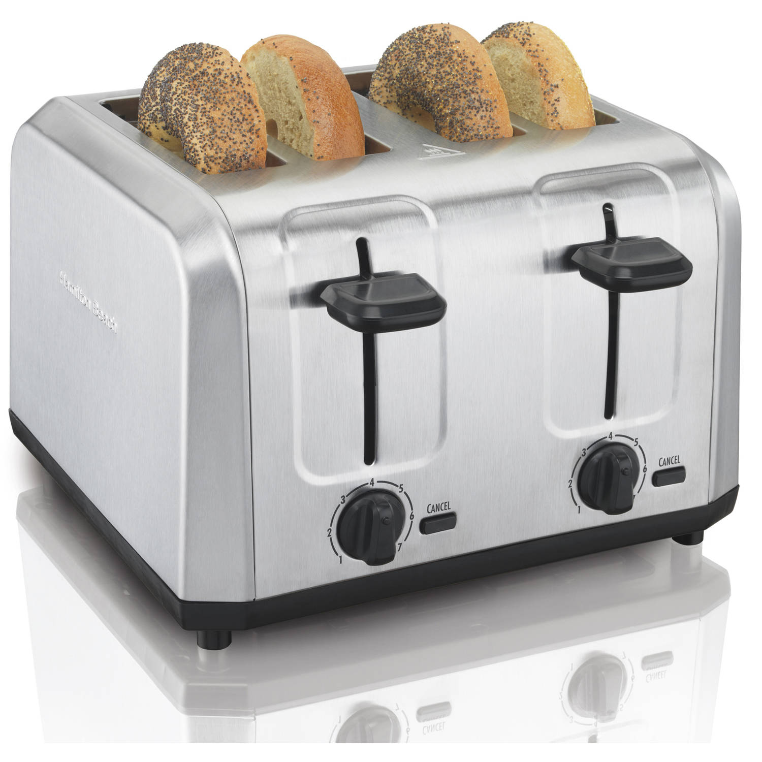 Hamilton Beach Brushed Stainless Steel Toaster | Model# 24910