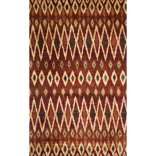 Image of Wildon Home Sonoma Rust/Red Area Rug
