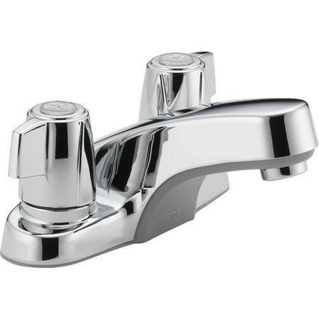 Peerless Core Two Handle Bathroom Faucet, Chrome 2 Handle Bathroom Faucet