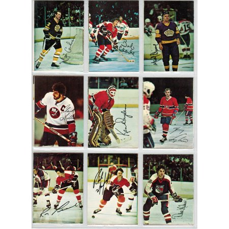 1977-78 O-Pee-Chee NHL hockey squared corners complete glossy card set of 22