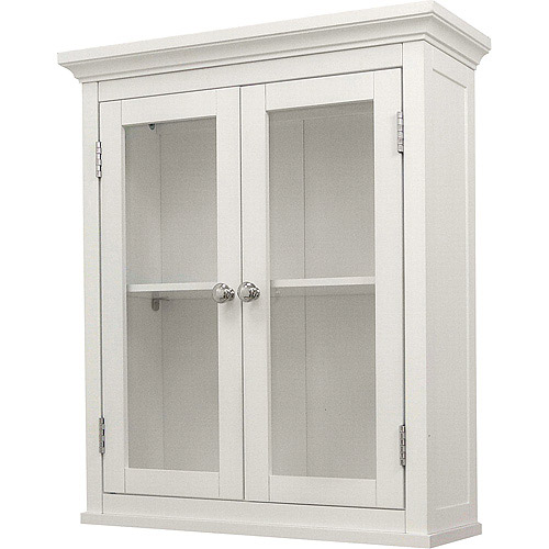 Classy Collection 2-Door Wall Cabinet, White