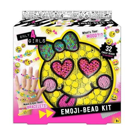 Only 4 Girls Emoji Bead Kit