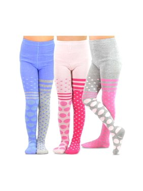 43742377f Product Image TeeHee Kids Girls Fashion Cotton Tights 3 Pair Pack