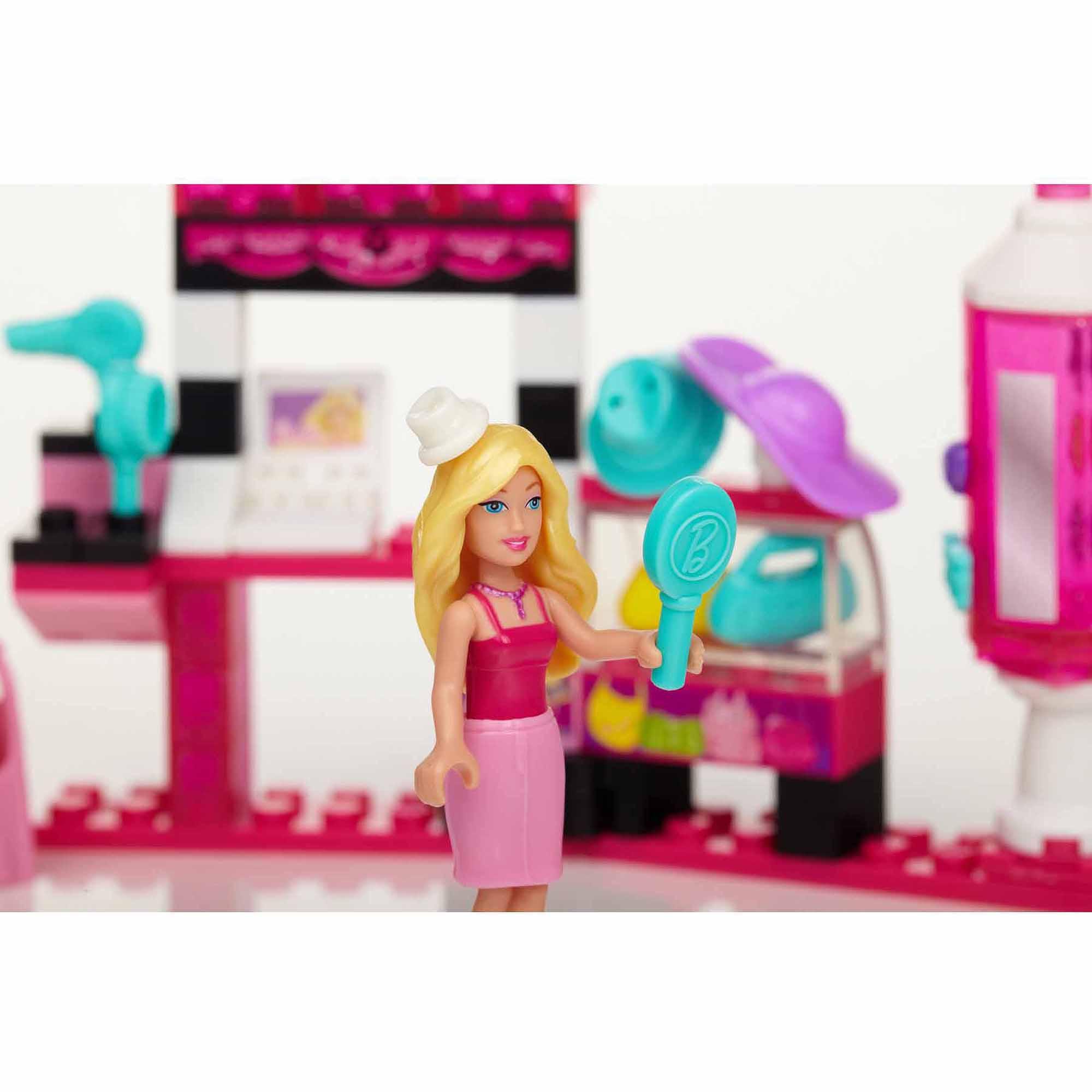 Mega Bloks Barbie Build 'n Style Fashion Stand Set #80211 by Mega Bloks