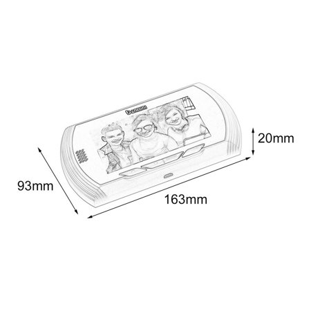 Danmini YB-43AHD-M 4.3 Inch Hidden Electronic Cat Eye