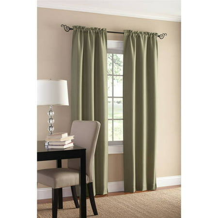 Mainstays Sailcloth Curtain Panel, Set of 2 (Curtain Only Sailcloth)