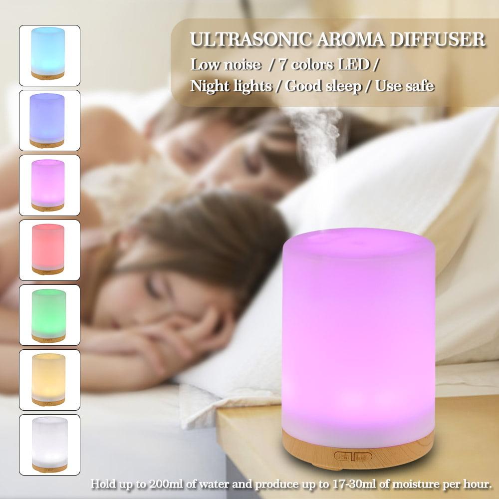 7-Color 200 ml Ultrasonic Aroma Humidificateur Air Diffuseur Purificateur Lonizer atomiseur
