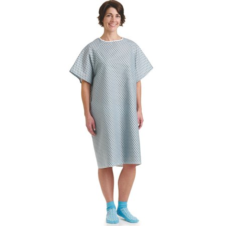 BHMEDWEAR Star Straight Back Closure Hospital Gowns - Halloween Hospital Gown
