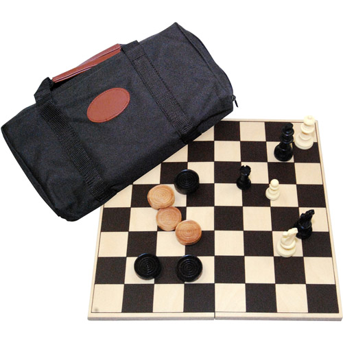 Drueke Travel Chess and Checkers by Merdel Game Manufacturing