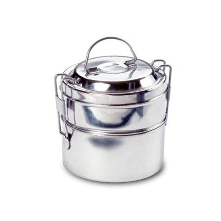 Rome Industries 2663 2-tier Mini Round Tiffin - stainless steel