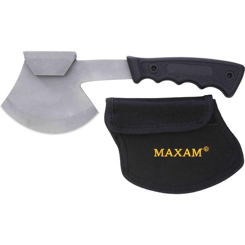 Stamped Hand Ax With Sheath - Skstax