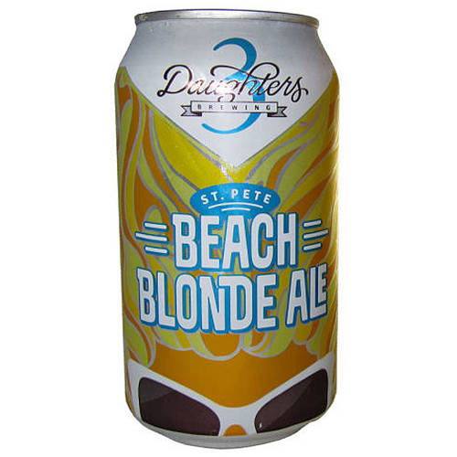 Image of 3 Daughters, St. Pete Beach Blonde Ale, 6 pack, 12 fl oz