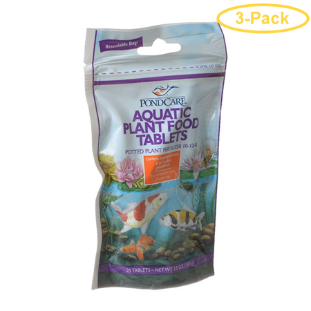 Image of PondCare Aquatic Plant Food Tablets 25 Tablets - Pack of 3