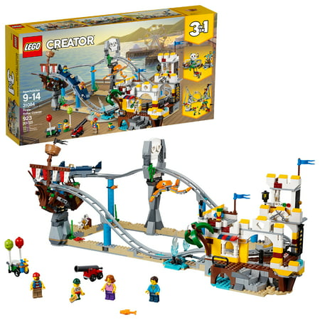 LEGO Creator 3in1 Pirate Roller Coaster 31084 (923 Pieces)](Lego Pirate Set)