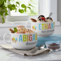 Personalized Sweet Treats Ice Cream Bowl