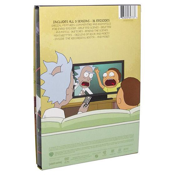 Rick And Morty: The Complete - Seasons 1-3 (DVD)