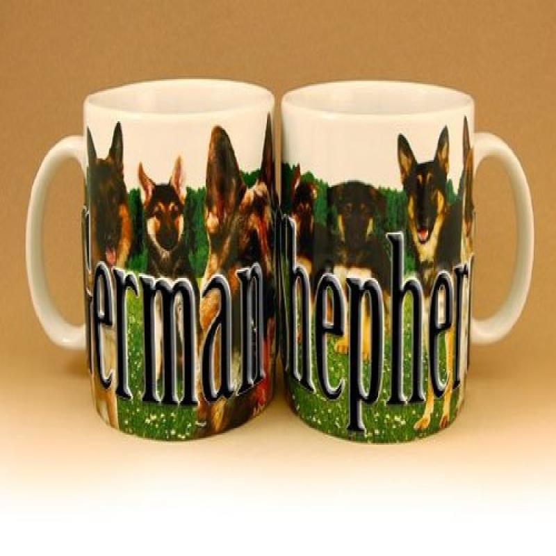 Americaware PMGSH02 German Shepherd Mug
