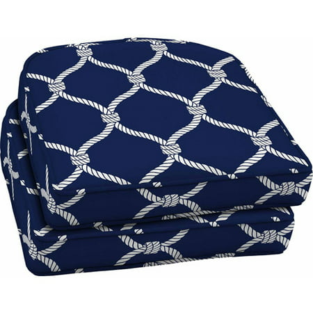 Better Homes And Gardens Outdoor Wicker Seat Cushions Blue