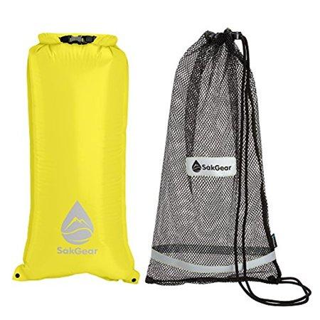 Snorkelsåk 2 In 1 Premium Mesh Snorkel Bag With Removable Interior Waterproof Dry
