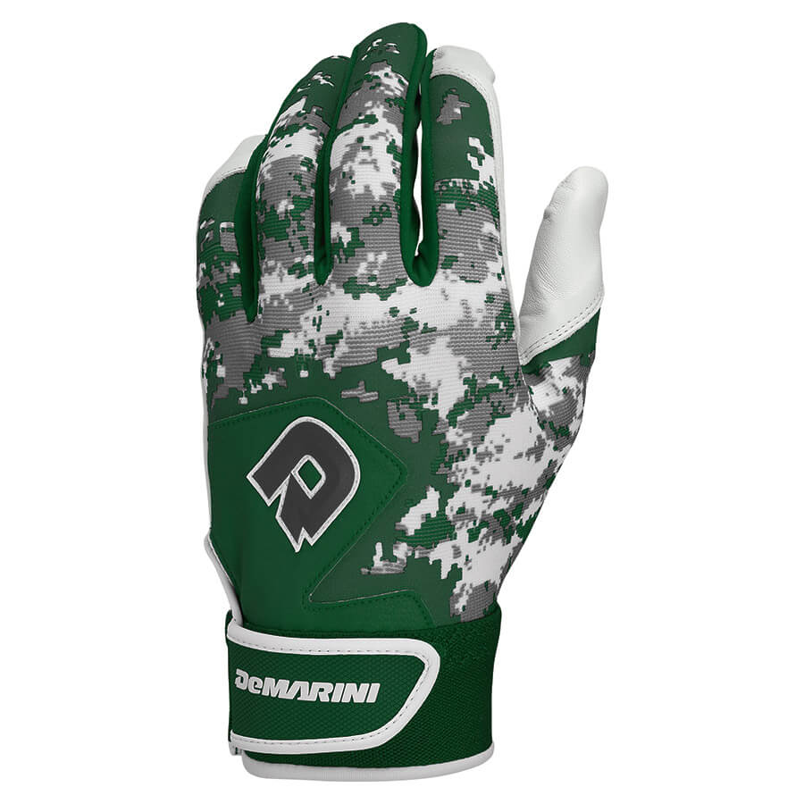 DeMarini Digi Camo II Youth Batting Glove-Black Small