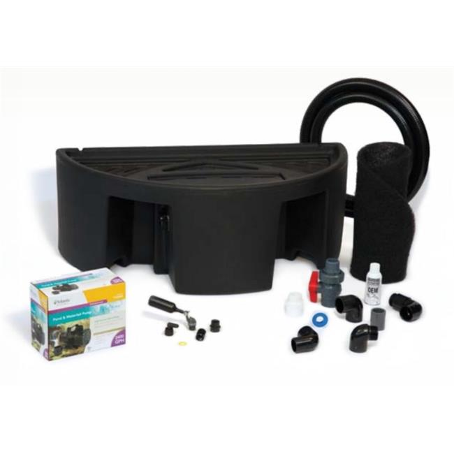 Atlantic Water Gardens CFBASINKIT24 Basin and Pump Kit for 24 inch Spillways