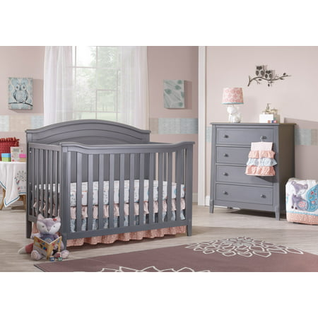 Sorelle Berkley Panel 4 in 1 Crib - Grey