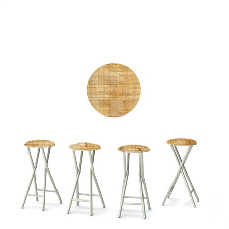 Best of Times Padded Bar Stool - Set of 4