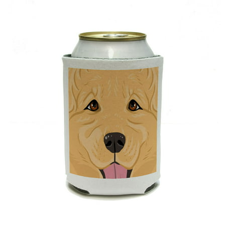 Golden Retriever Face - Close up Pet Dog Can Cooler Drink Insulator Beverage Insulated Holder