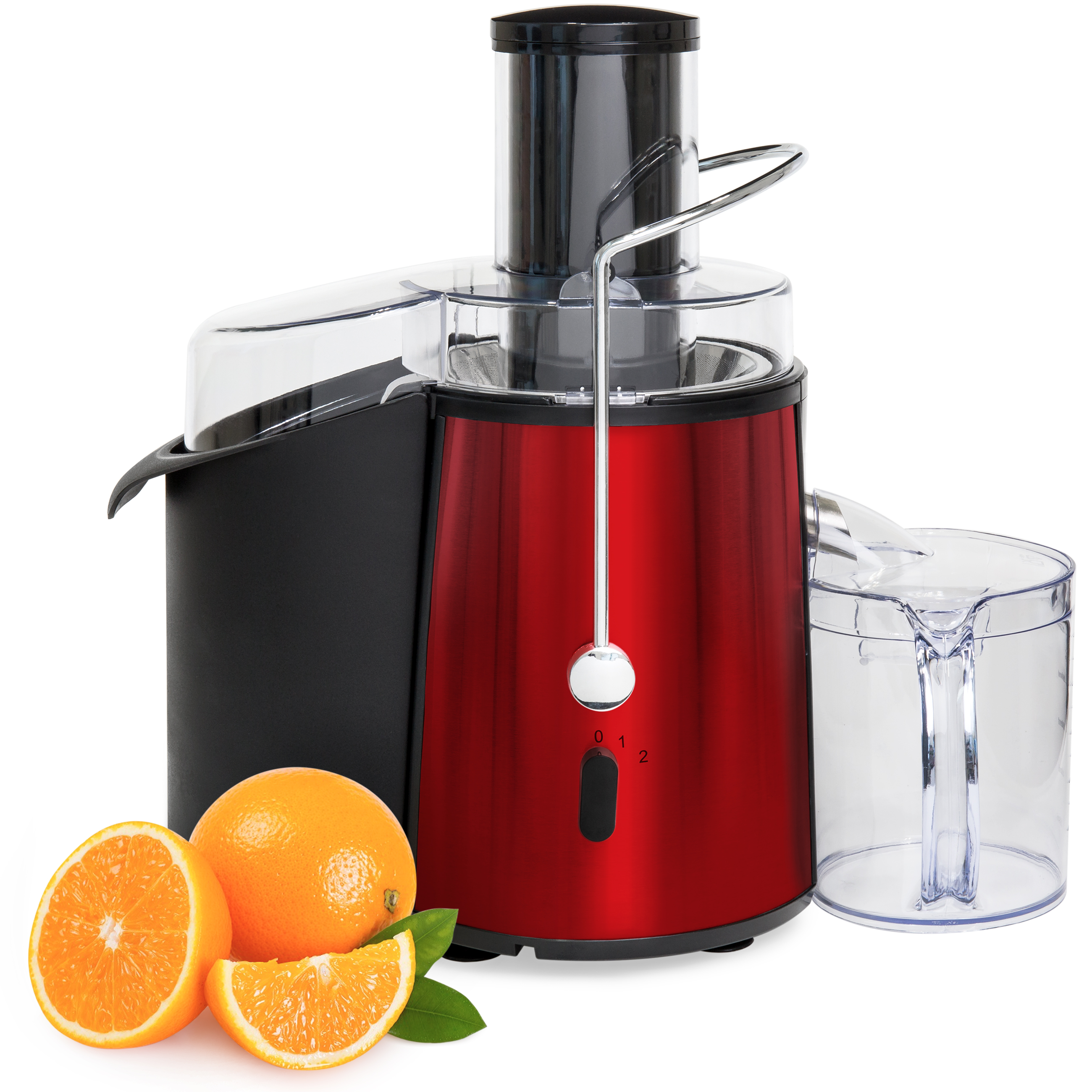 Best Choice Products 700 Watt 2 Speed Etl Certified Fruit Vegetable Power Juicer (Red) by Best Choice Products