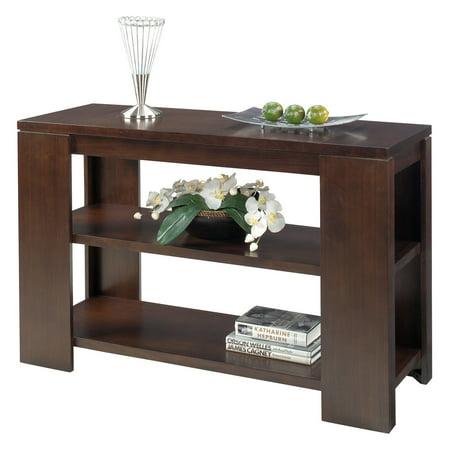 Progressive Furniture Sofa Table   Vintage Walnut