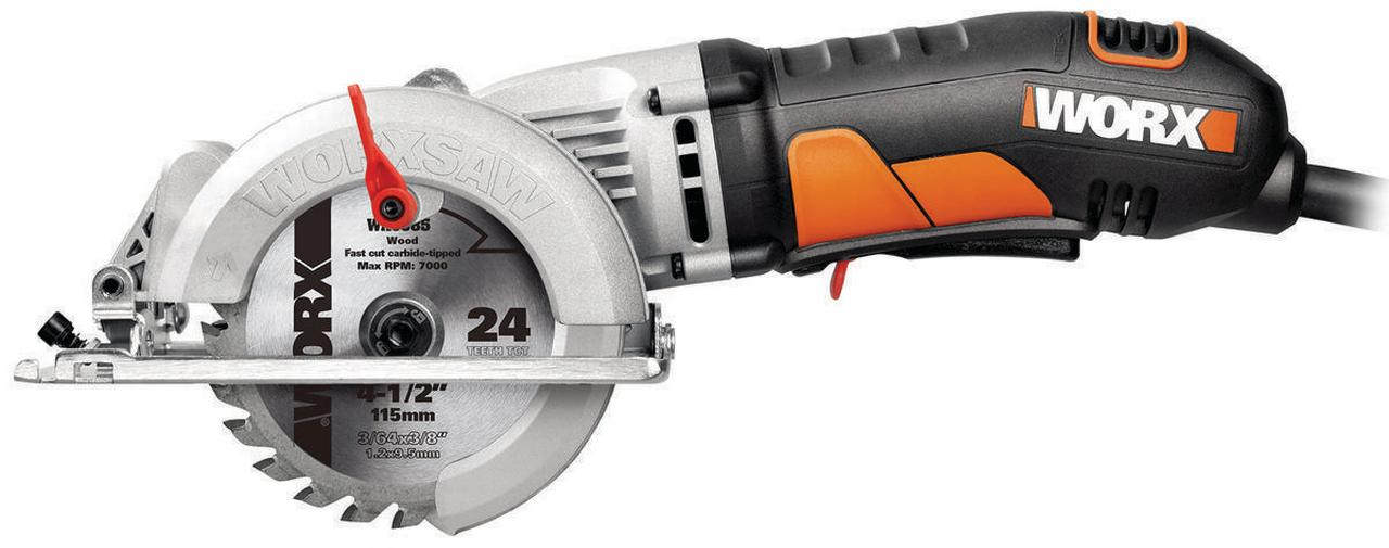 WORX Worxsaw 4-1 2-Inch Compact Circular Saw Wx429L by Positec Technology