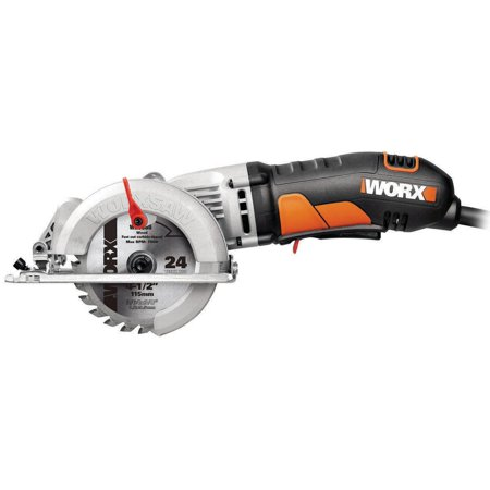 WORX Worxsaw 4-1/2-Inch Compact Circular Saw, (Best Brushless Circular Saw)
