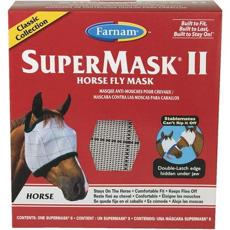 SuperMask II Standard Horse Fly Mask