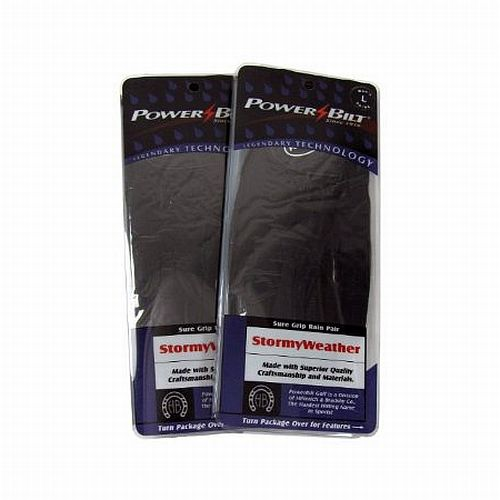 Powerbilt Stormy Weather Golf Gloves (MENS, PAIR) Rain NEW